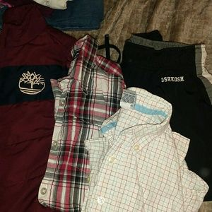 Boys puffy vest and stuff size 5 lot of 4